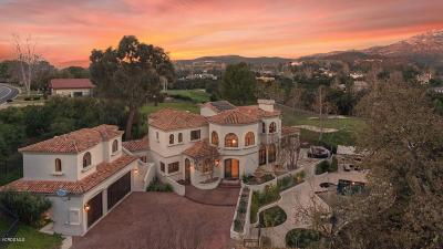 Westlake Village Single Family Home For Sale: 5145 Lakeview Canyon Road