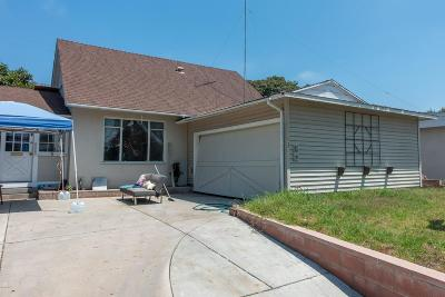 Ventura Single Family Home For Sale: 3161 Preble Avenue