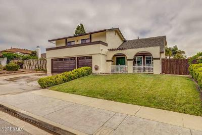 Camarillo Single Family Home For Sale: 2148 Lyndhurst Avenue