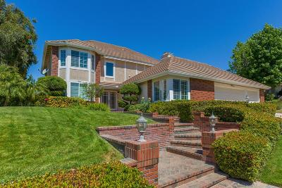 Agoura Hills Single Family Home Sold: 5881 Woodglen Drive