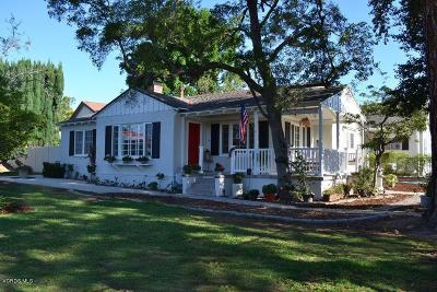 Simi Valley Single Family Home For Sale: 3459 Township Avenue