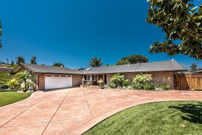 Camarillo Single Family Home For Sale: 1627 Riente Street