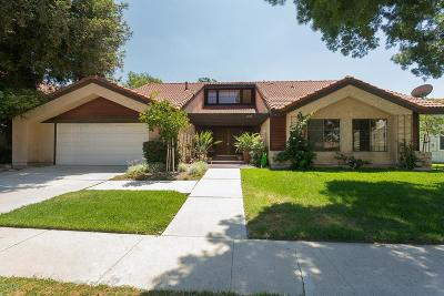 Simi Valley Single Family Home For Sale: 2720 Lemon Drive