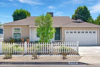 Reseda Single Family Home For Sale: 6424 Bertrand Avenue
