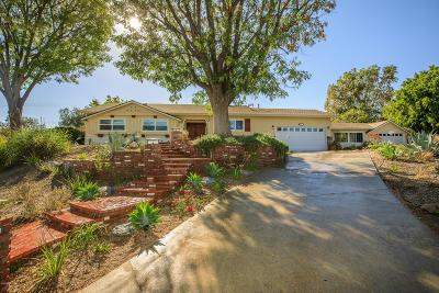 Thousand Oaks Single Family Home For Sale: 327 Encino Vista Drive
