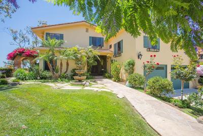 Santa Paula Single Family Home For Sale: 710 Rancho Vista Lane