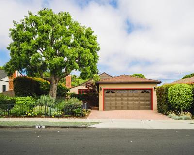 Ventura Single Family Home For Sale: 246 Eugenia Drive