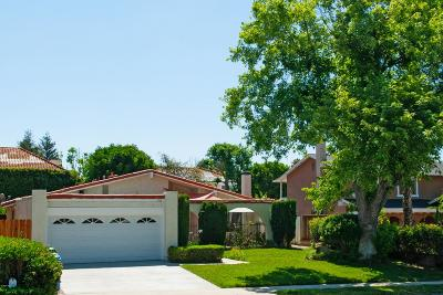 Agoura Hills Single Family Home For Sale: 5714 Rainbow Hill Road