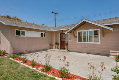 Camarillo Single Family Home For Sale: 434 Merritt Avenue