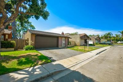 Ventura Single Family Home For Sale: 1229 Snipe Avenue
