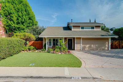 Camarillo Single Family Home For Sale: 2758 Shalimar Street