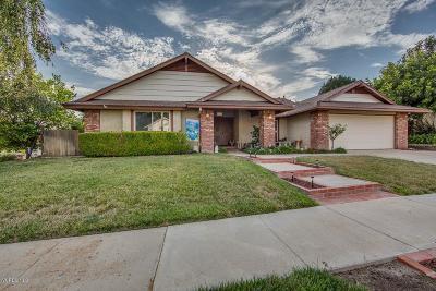 Moorpark Single Family Home For Sale: 4475 Bella Vista Drive