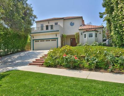Encino Single Family Home For Sale: 15906 Valley Vista Boulevard