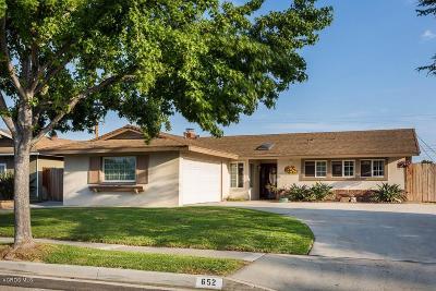 Camarillo Single Family Home For Sale: 652 Leonard Street