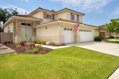 Camarillo Single Family Home For Sale: 4863 La Puma Court