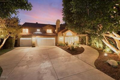Westlake Village Single Family Home For Sale: 1699 Twilight Ridge Court