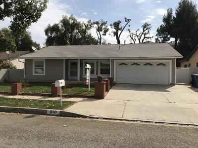 Simi Valley CA Single Family Home For Sale: $669,000
