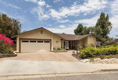Thousand Oaks Single Family Home For Sale: 307 Longview Place