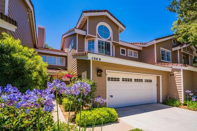 Westlake Village Condo/Townhouse For Sale: 1069 Westcreek Lane