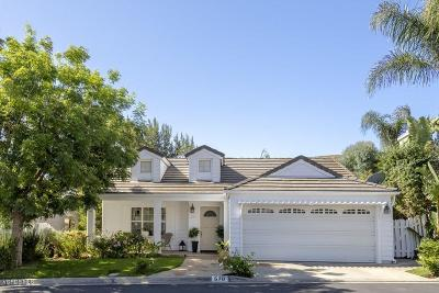 Simi Valley Single Family Home For Sale: 570 Stoney Peak Court