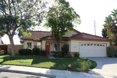Moorpark Single Family Home For Sale: 4485 Sugar Maple Court