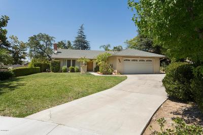 Thousand Oaks Single Family Home For Sale: 375 Thorpe Circle