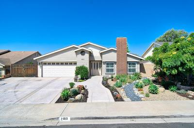 Camarillo Single Family Home For Sale: 2013 El Rancho Drive