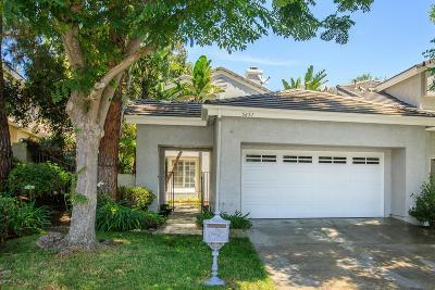 Westlake Village Condo/Townhouse For Sale: 5651 Tanner Ridge Avenue