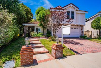 Agoura Hills Single Family Home Sold: 30060 Torrepines Place