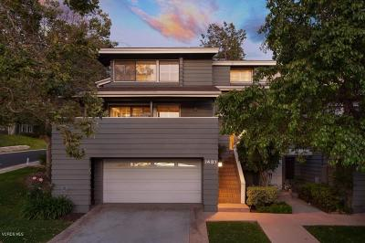 Westlake Village Condo/Townhouse For Sale: 1487 North View Drive