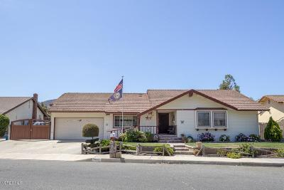 Simi Valley Single Family Home For Sale: 1642 Rambling Road