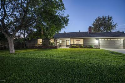 Thousand Oaks Single Family Home For Sale: 1829 Berkshire Drive