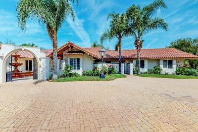 Camarillo Single Family Home For Sale: 1296 Vista Del Cima