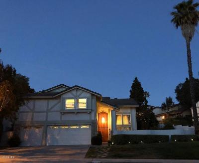 Thousand Oaks Single Family Home For Sale: 3200 Monte Carlo Drive