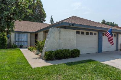 Camarillo Single Family Home For Sale: 5136 Village 5