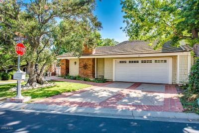 Westlake Village Single Family Home For Sale: 1719 Walker Cup Circle