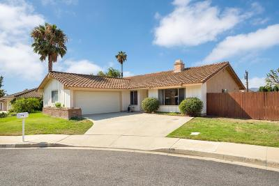 Thousand Oaks Single Family Home For Sale: 110 June Court