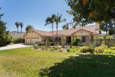 Camarillo Single Family Home For Sale: 1891 Via Montecito