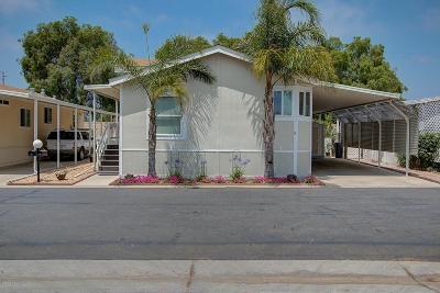 Camarillo Single Family Home For Sale: 1150 Ventura Boulevard #2