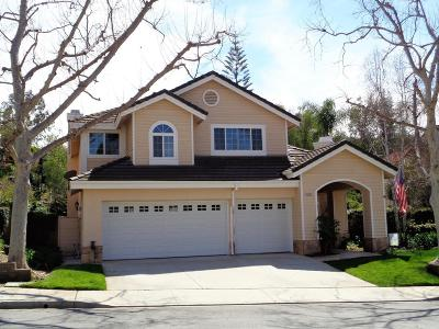 Moorpark Single Family Home For Sale: 12192 Arbor Hill Street