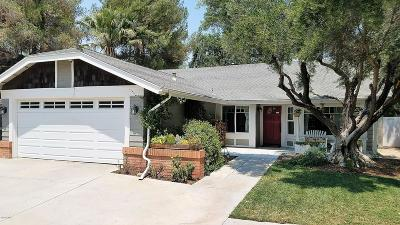 Saugus Single Family Home For Sale: 22425 Claremont Drive