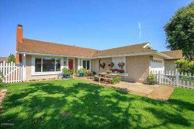 Camarillo Single Family Home For Sale: 5331 Willow View Drive