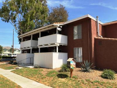 Ventura Condo/Townhouse For Sale: 1300 Saratoga Avenue #501