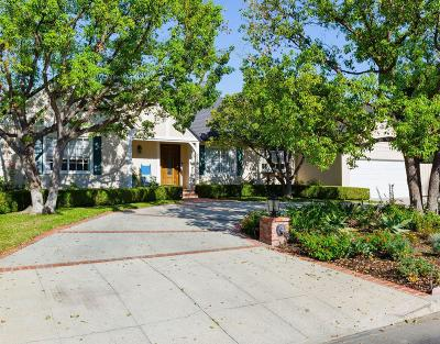 Encino Single Family Home For Sale: 5180 Gaynor Avenue
