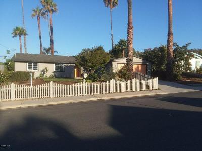 Camarillo Single Family Home For Sale: 405 Gardenia Avenue