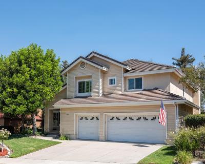 Moorpark Single Family Home For Sale: 12659 Misty Grove Street