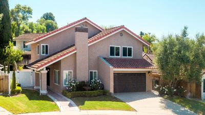 Thousand Oaks Single Family Home For Sale: 2862 Shelter Wood Court
