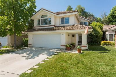 Simi Valley Single Family Home For Sale: 626 Twin Peaks Avenue
