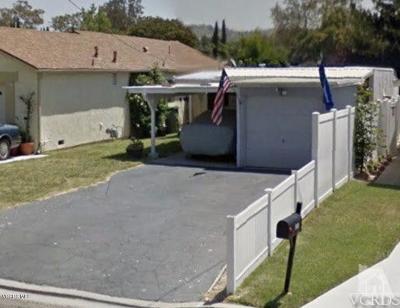 Thousand Oaks Single Family Home For Sale: 706 Hodencamp Road