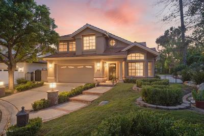 Westlake Village Single Family Home For Sale: 1793 Saint Andrews Place